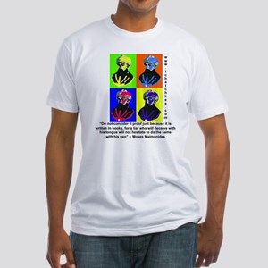 Rambam Truth Fitted T-Shirt