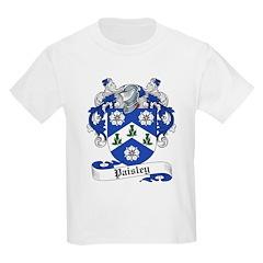 Paisley Family Crest Kids T-Shirt