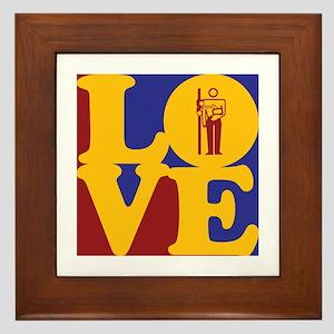 Radiology Love Framed Tile