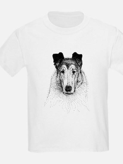 Smooth Collie Kids T-Shirt