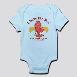 Red Beans & Rice Infant Bodysuit