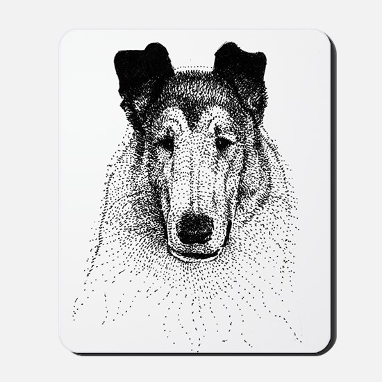 Smooth Collie Mousepad