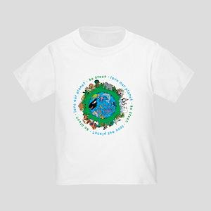 5134d0889 Environment Toddler T-Shirts - CafePress