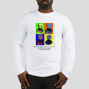 Rambam Progress Long Sleeve T-Shirt