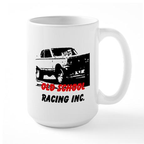 AFTM OLd School Racing Inc. 4 Large Mug