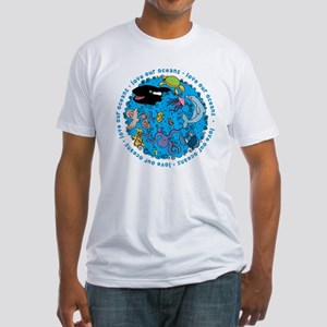 LOVE our Oceans Fitted T-Shirt