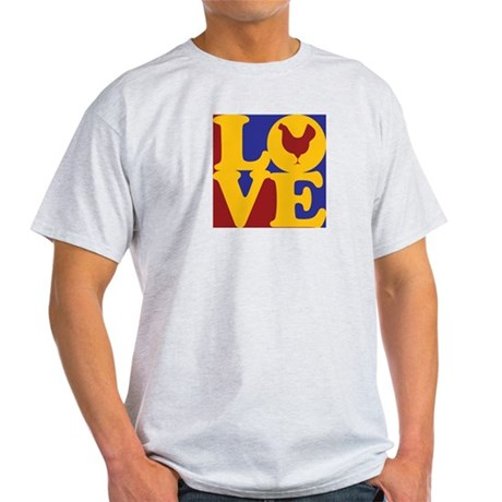 Poultry Love Light T-Shirt
