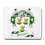 Paterson Family Crest Mousepad