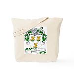 Paterson Family Crest Tote Bag