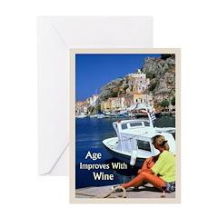 Age-Wine - Birthday Card