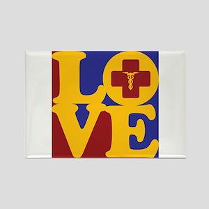 Phlebotomy Love Rectangle Magnet