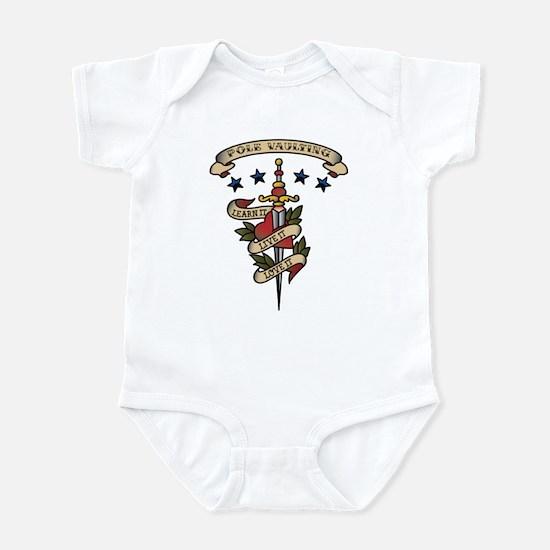Love Pole Vaulting Infant Bodysuit