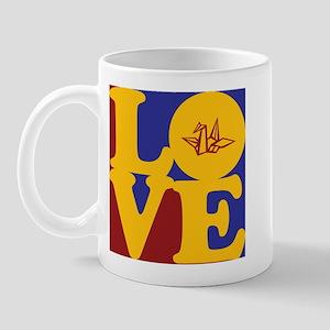 Origami Love Mug