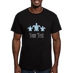 Sea Turtle Ocean Blue Name T-Shirt