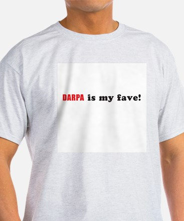 """DARPA is my fave!"" T-Shirt"