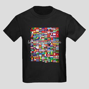 Let the Games Begin Kids Dark T-Shirt