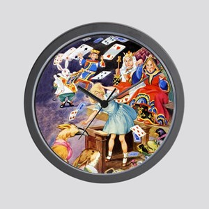 ALICE IN THE JURY BOX Wall Clock