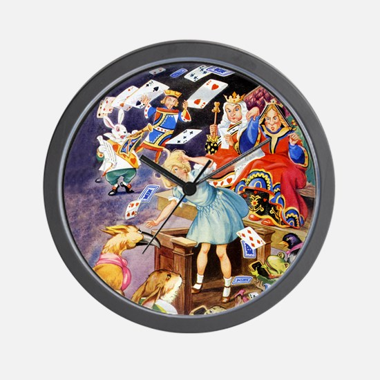 ALICE IN THE JURY BOX Wall Clock