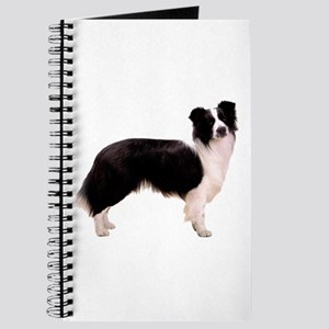 Black Border Collie Dog Journal
