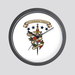 Love Occupational Therapy Wall Clock