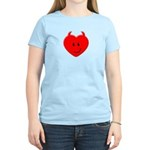 Evil Heart Women's Light T-Shirt