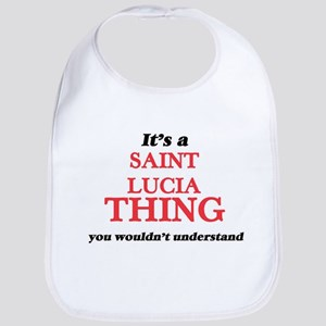 It's a Saint Lucia thing, you wouldn& Baby Bib