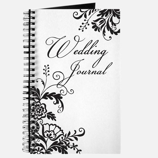 Elegant Floral Wedding Journal