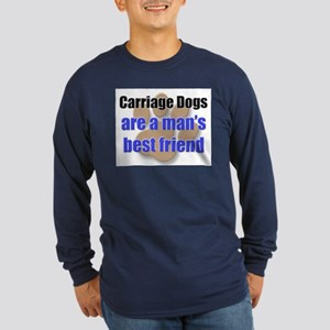 Carriage Dogs man's best friend Long Sleeve Dark T