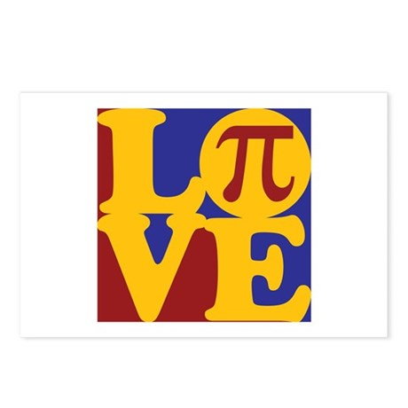 Math Love Postcards (Package of 8)