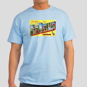 New Orleans Louisiana Greetings Light T-Shirt