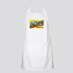New Orleans Louisiana Greetings BBQ Apron