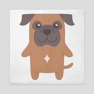 Bull Mastiff Gift Idea Queen Duvet