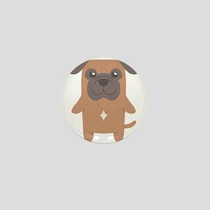 Bull Mastiff Gift Idea Mini Button