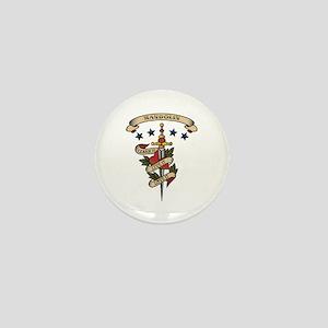 Love Mandolin Mini Button
