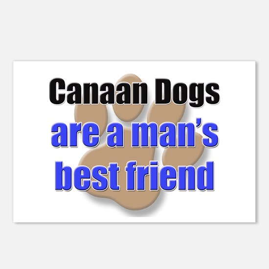 Canaan Dogs man's best friend Postcards (Package o