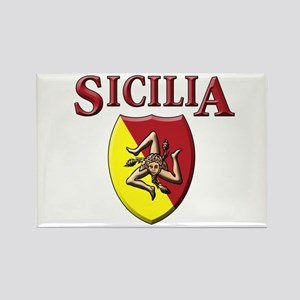 Sicilian Pride Rectangle Magnet