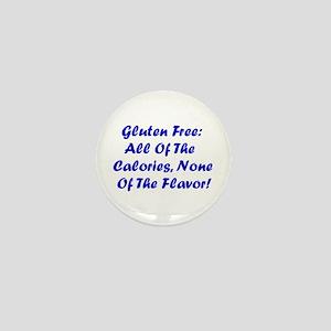 Gluten Free: No Flavor Mini Button