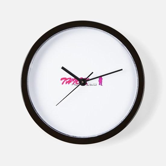 Unique Kara Wall Clock