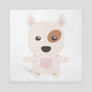 Bull Terrier Gift Idea Queen Duvet