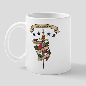 Love Lacrosse Mug