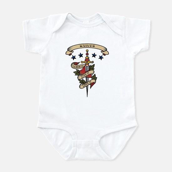 Love Knives Infant Bodysuit