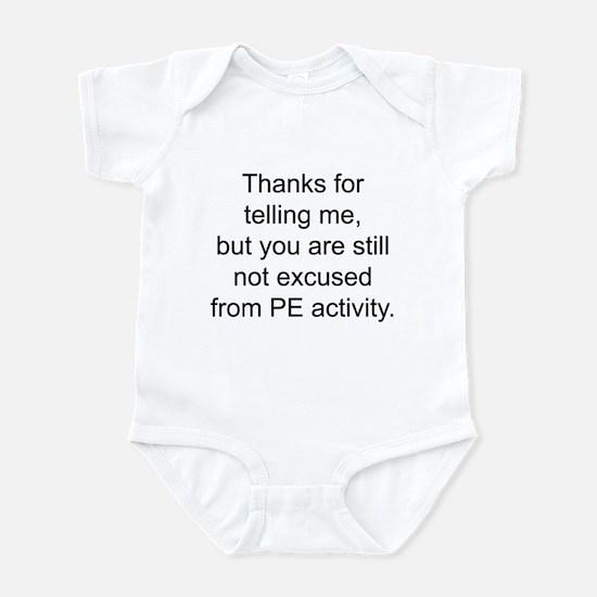 Thanks for telling me. Infant Bodysuit