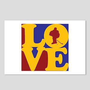 Hockey Love Postcards (Package of 8)