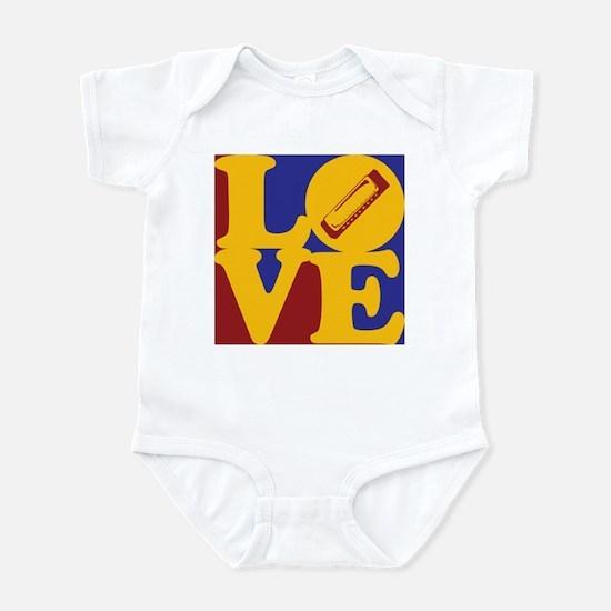 Harmonica Love Infant Bodysuit