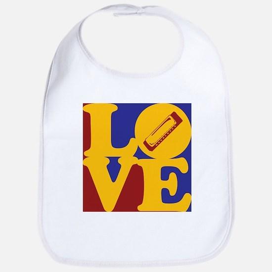 Harmonica Love Bib