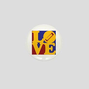 Harmonica Love Mini Button