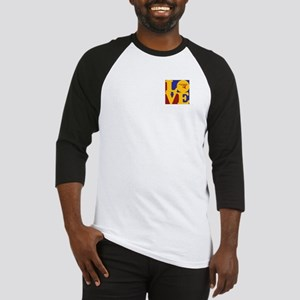 Hang Gliding Love Baseball Jersey