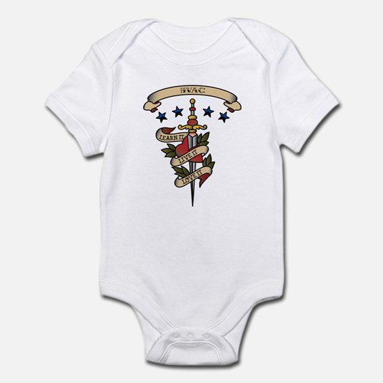 Love HVAC Infant Bodysuit
