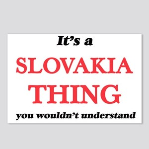 It's a Slovakia thing Postcards (Package of 8)