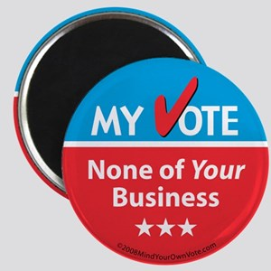 My Vote/My Business Magnet